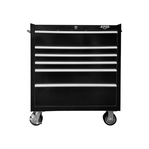 16″ 4 Drawer Rolling Tool Cart – Viper Tool Storage